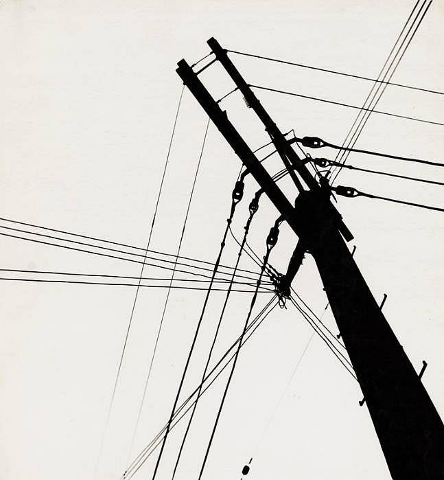 Ferenc Berko | Telephone Wires, Chicago | 1947-48 | Gitterman ...