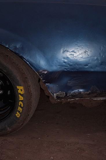 Adam Bartos, Uranium Capitol Speedway, Grants, NM 2011, Pigment print