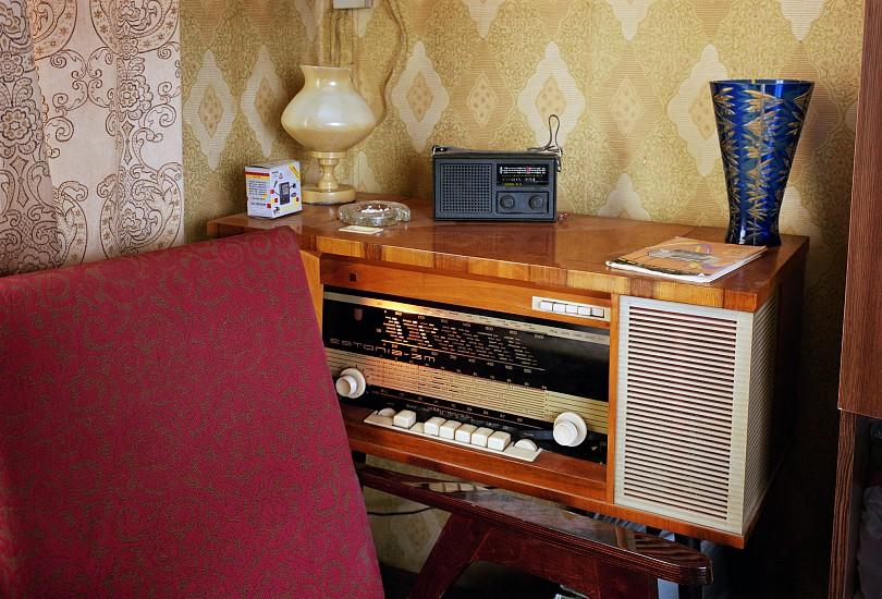 Adam Bartos, Kosmos: Arkadiy Ostashev's Radio, Korolev City 1995-99, Digital chromogenic print