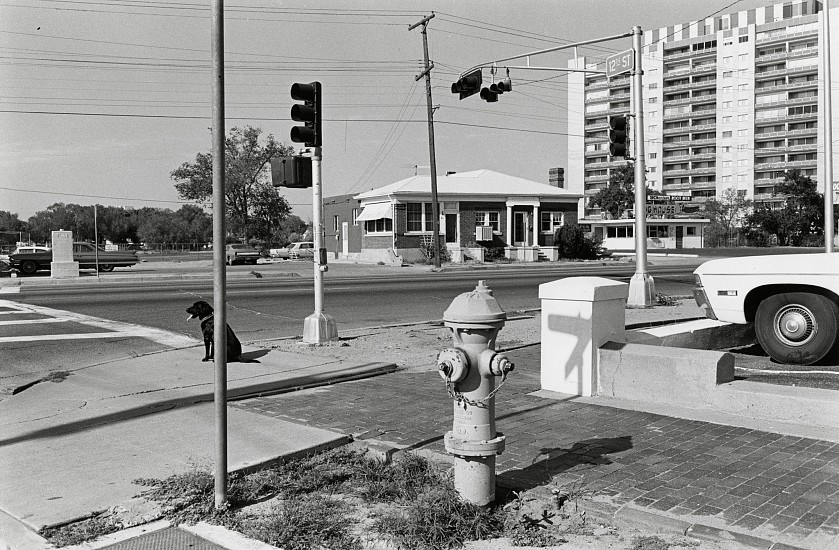Lee Friedlander, Albuquerque, New Mexico 1972, Vintage gelatin silver print; printed no later than 1976