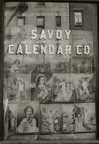 Eliot Elisofon, Savoy Calendar Co. c. 1937, Vintage gelatin silver print