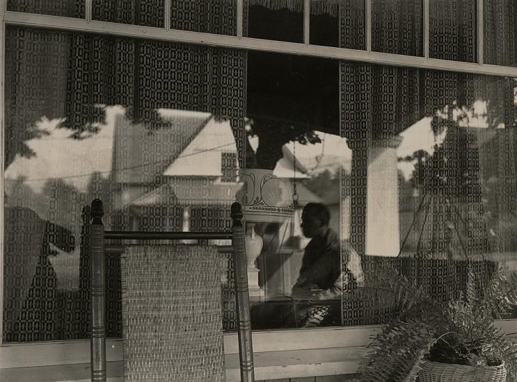 Eliot Elisofon, Porch and Quaker Lace c. 1937, Vintage gelatin silver print