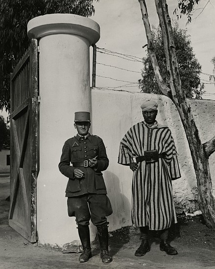 Eliot Elisofon, Concentration Camp in French Morocco 1942, Vintage gelatin silver print