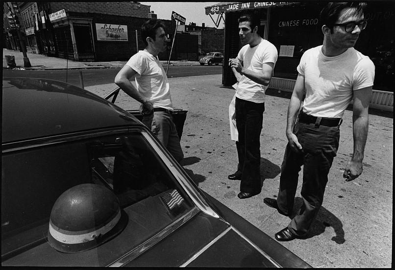 Robert D'Alessandro, Myrtle Ave, Brooklyn, New York 1972, Vintage gelatin silver print
