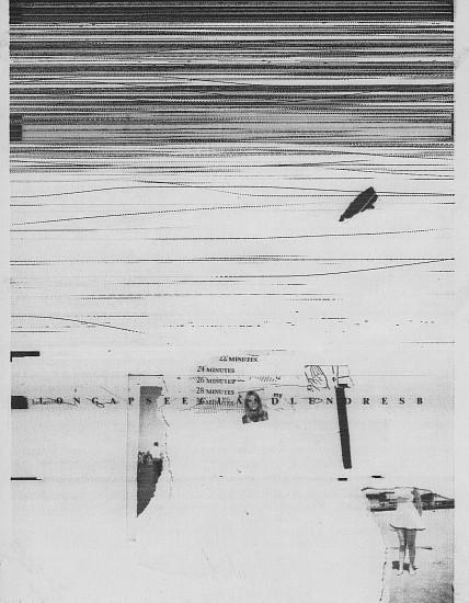 William Larson, Untitled, Fireflies series 1969-78, Electro-carbon print