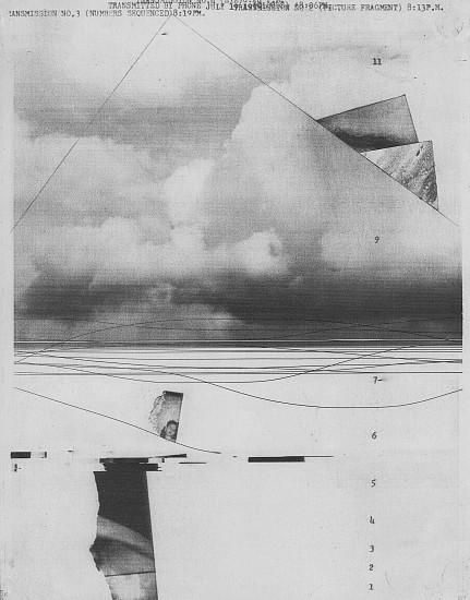 William Larson, Untitled, Fireflies series 19-Jul-75, Electro-carbon print