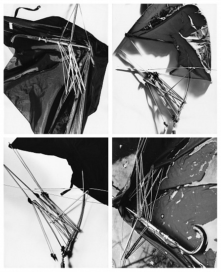 Herbert Matter, For a Rainy Day, New York 1978, 4 vintage gelatin silver prints each