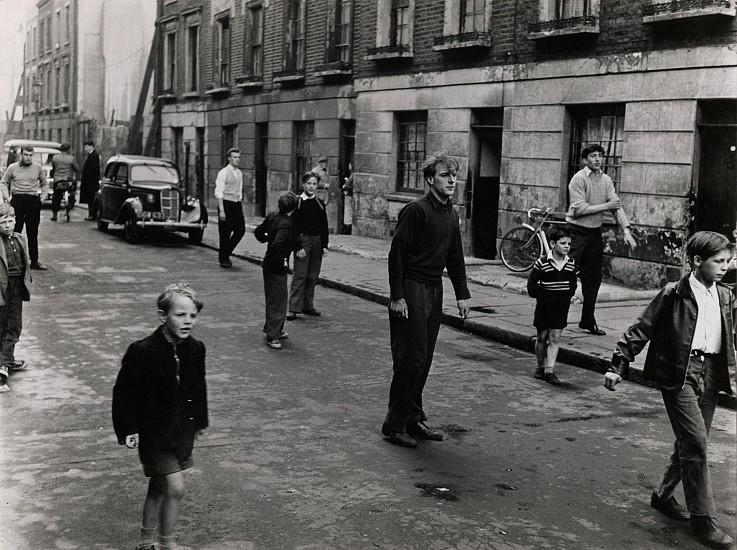Roger Mayne, Brindley Road, Paddington, London 1957, Vintage gelatin silver print