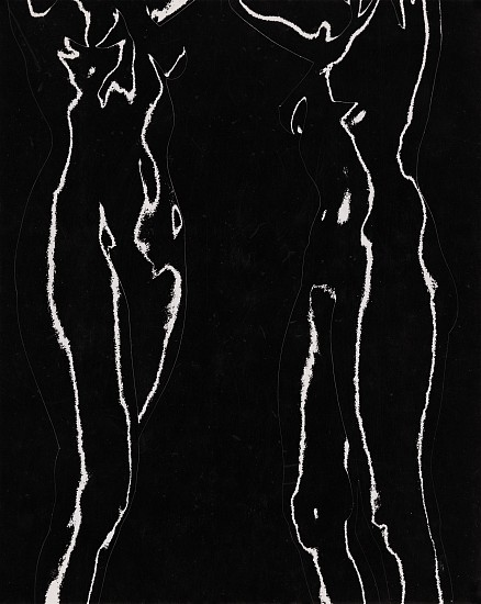 Ferenc Berko, Solarized Nudes c. 1950-51, Vintage gelatin silver print