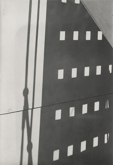 Ferenc Berko, Shadow Pattern on Board of Ship, India 1938, Vintage gelatin silver print