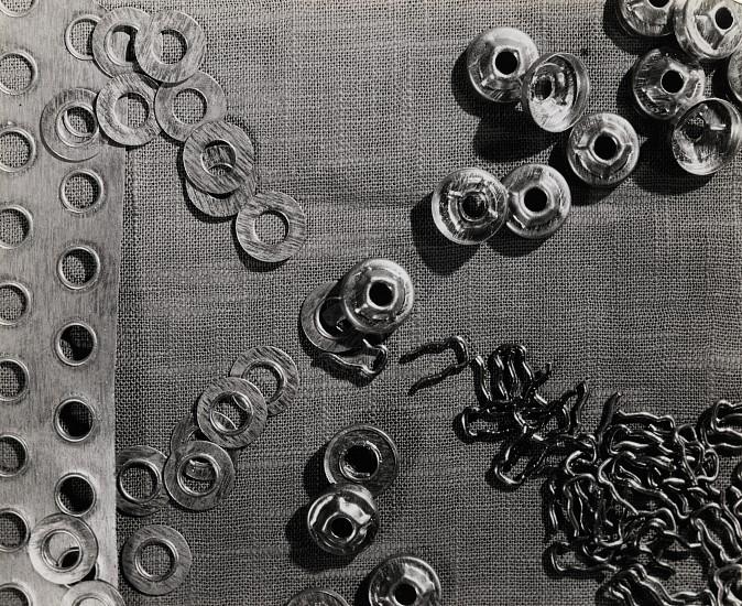 Ferenc Berko, Button Factory, India c. 1938-47, Vintage gelatin silver print
