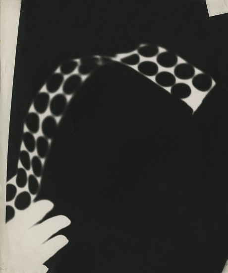 Ferenc Berko, Shadowgram, India c. 1940-3, Vintage gelatin silver print