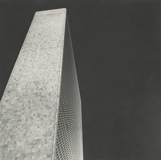 Ferenc Berko, UN Building, New York City c. 1949, Vintage gelatin silver print