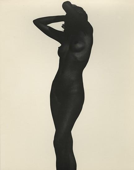 Ferenc Berko, Nude, Chicago c. 1950-51, Vintage gelatin silver print