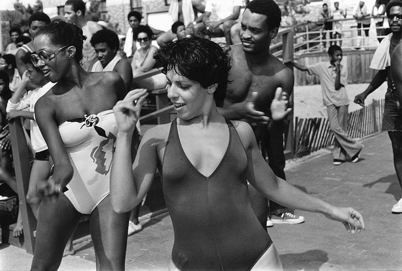 Joseph Szabo, Jones Beach Disco 1980, Vintage gelatin silver print