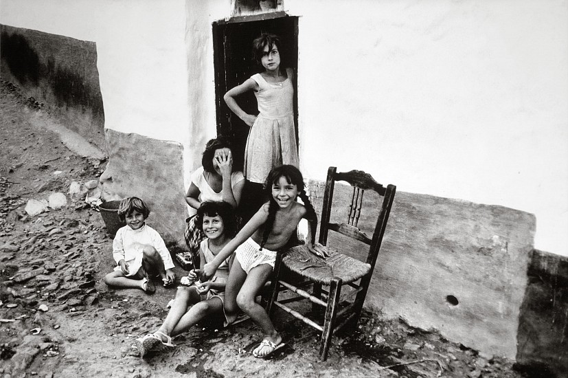 Roger Mayne, Children, Almunecar, Costa Del Sol 1962, Vintage gelatin silver print; printed 1965