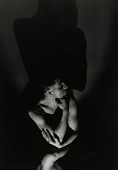 Andre Steiner, Portrait d'homme 1934, Vintage gelatin silver print