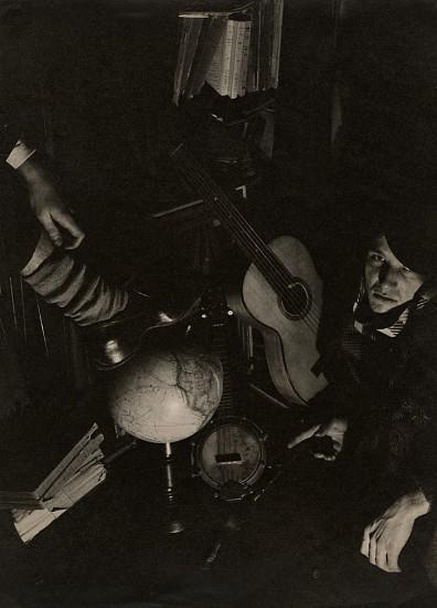 Maurice Tabard, Fabian Loris et Roger Parry 1928, Vintage gelatin silver print
