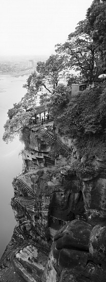 Lois Conner, Leshan, Sichuan, China 1986, Pigment print