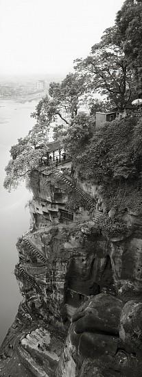 Lois Conner, Leshan, Sichuan, China 1986, Platinum print