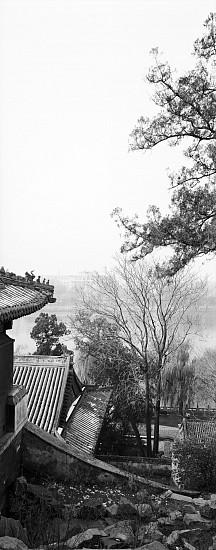 Lois Conner, Qionghuadao, Beihai Gongyuan, Beijing, China 1985, Platinum print