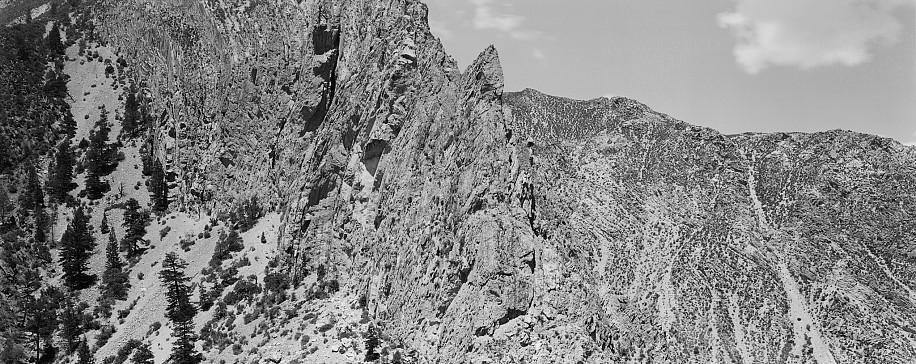 Lois Conner, Navajo Reservation, Utah 1995, Platinum print