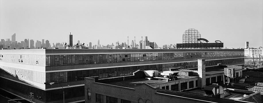 Lois Conner, Queens, New York 1990, Platinum print