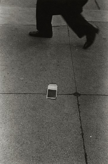Richard Gordon, Meta Photograph, New York City c. 1974, Vintage gelatin silver print