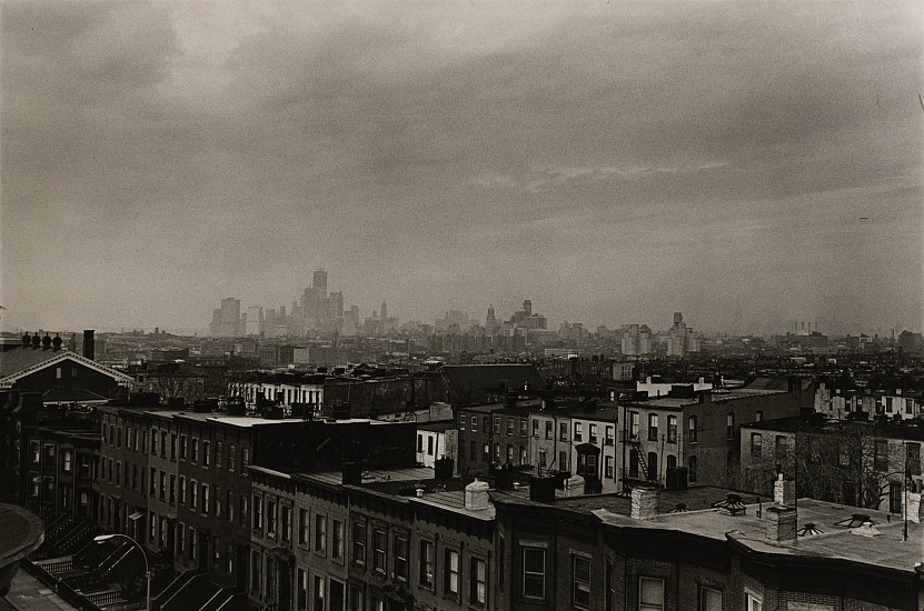 Richard Gordon, From My Window c. 1971, Vintage gelatin silver print