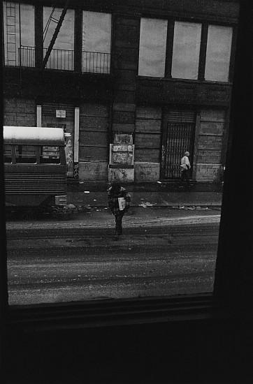 Richard Gordon, Robert Frank's Window, Bleecker Street 1984, Vintage gelatin silver print