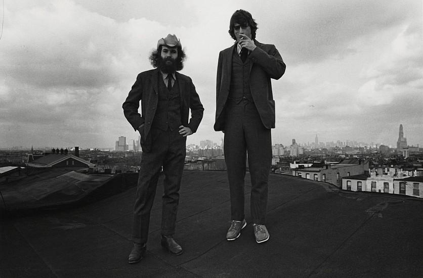 Richard Gordon, Ken and Me, Rooftop, Brooklyn 1971, Vintage gelatin silver print
