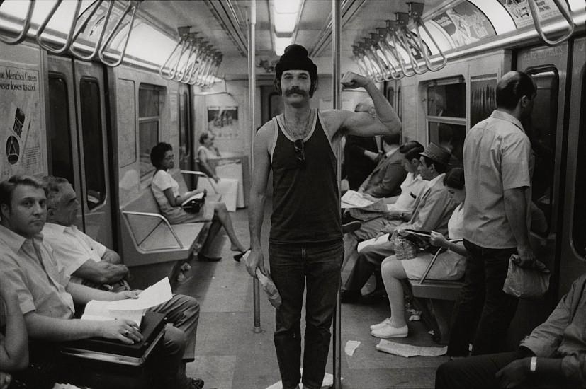 Richard Gordon, On the F Train to Queens 1968-69, Vintage gelatin silver print
