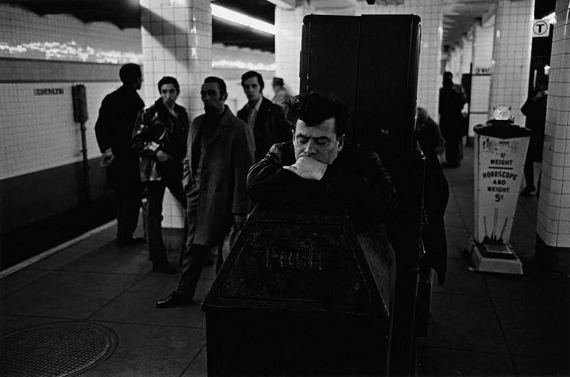 Richard Gordon, Subway, Manhattan 1971, Vintage gelatin silver print