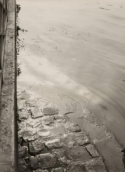 Jean Moral, Quai de Seine 1925, Vintage gelatin silver print