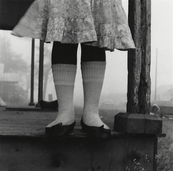 Debbie Fleming Caffery, Knee Socks 1983, Early gelatin silver print