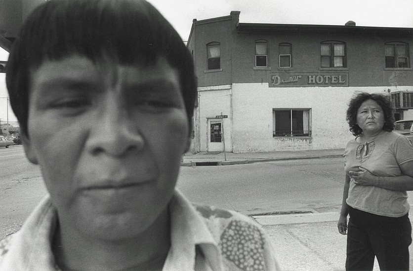 Roswell Angier, Gallup, New Mexico 1979, Vintage gelatin silver print