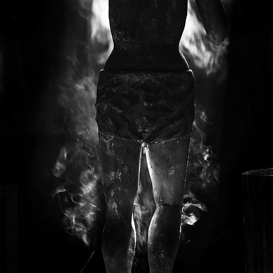Debbie Fleming Caffery, Smoking Torso 1996, Gelatin silver print