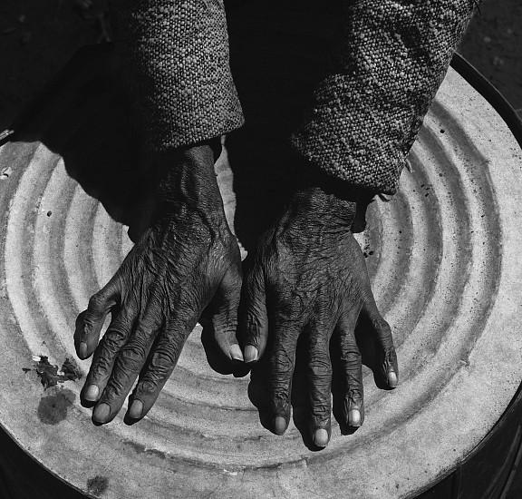 Debbie Fleming Caffery, Harry's Hands 1984, Gelatin silver print