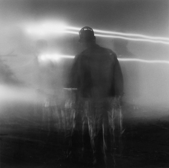 Debbie Fleming Caffery, Light Streaks 11-Oct-89, Gelatin silver print