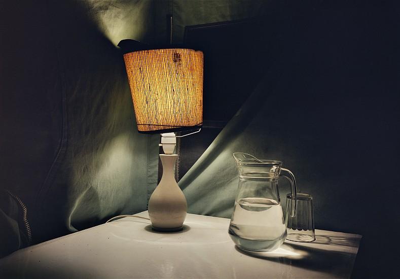 Adam Bartos, Kenya (lamp and pitcher) 1980, Pigment print