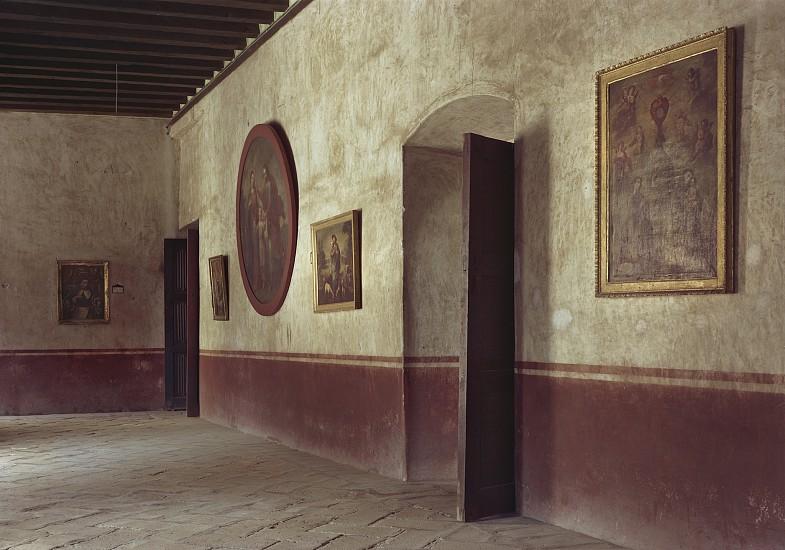Adam Bartos, Acolman, Mexico (former monastery of San Agustín) 1981, Pigment print