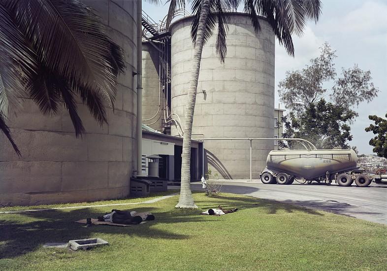 Adam Bartos, Mombasa, Kenya (cement plant) 1980, Pigment print