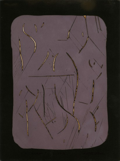 Pierre Cordier, Chimigramme 26/8/76 II 1976, Vintage gelatin silver unique chemigram