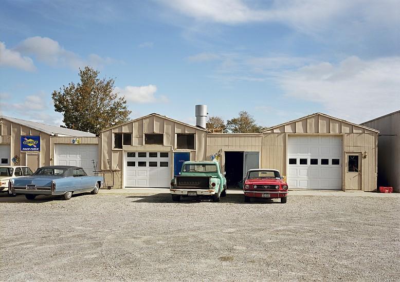 Adam Bartos, Montauk Highway, Watermill, NY 2009, Color carbon print