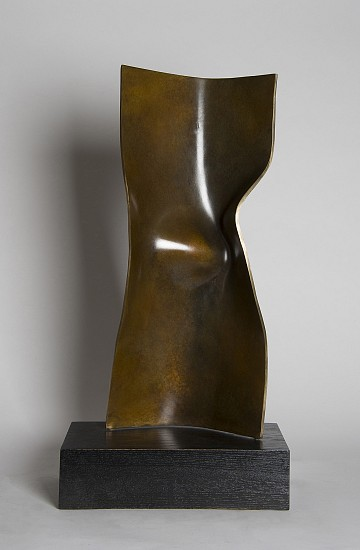 Joe Gitterman ,   Torso 21  ,  2015     Bronze ,  23 3/4 x 10 1/2 x 4 3/4 in. (60.3 x 26.7 x 12.1 cm)     7340