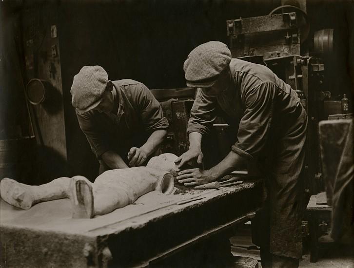 Josef Breitenbach, The Mold Makers, Paris c. 1933-39, Vintage gelatin silver print