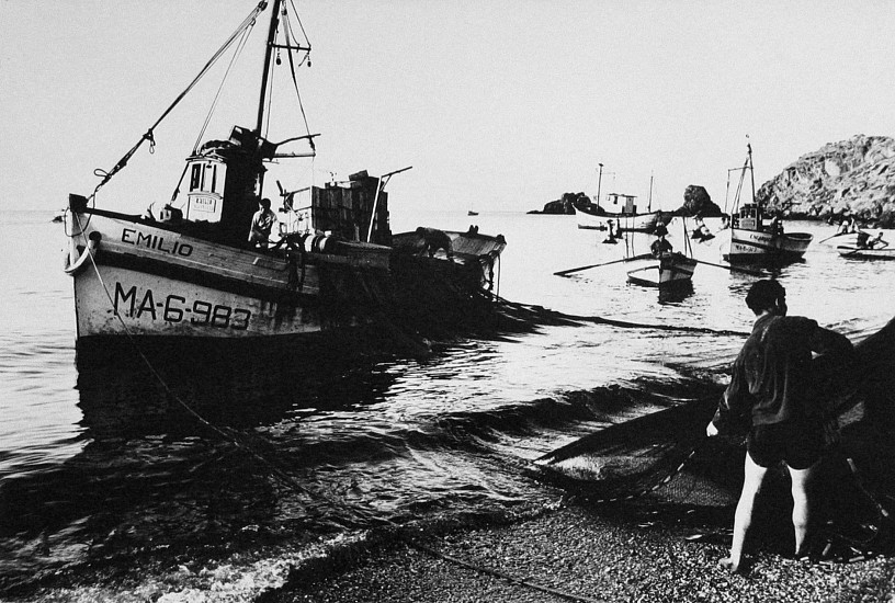 Roger Mayne, Fishermen, Almunecar, Costa Del Sol 1962, Vintage gelatin silver print