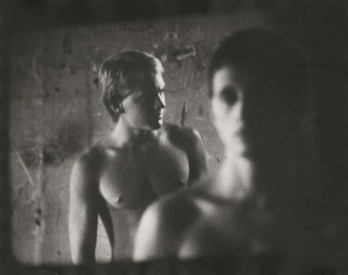 """James Herbert, from """"Two Figures"""" 1980 1989, Vintage gelatin silver print; printed 1993"""