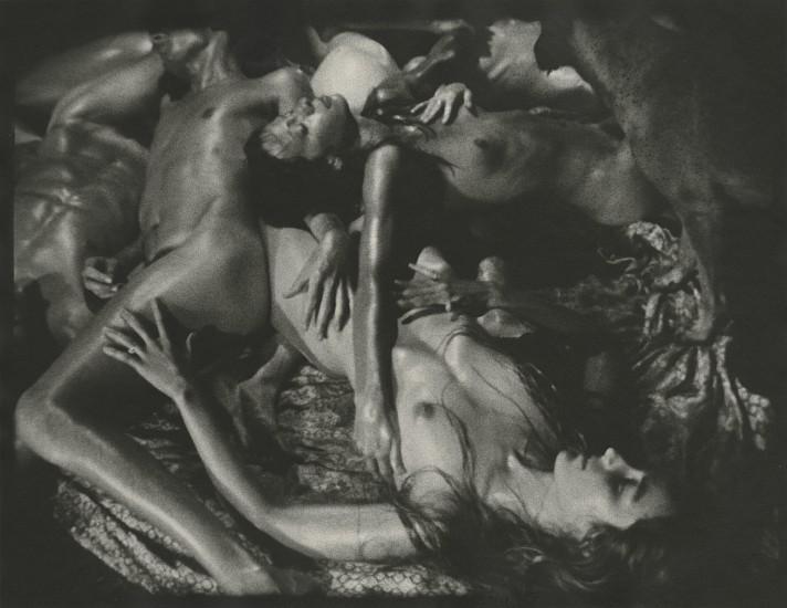 """James Herbert, from """"Night Horses"""" 1976 1989, Vintage gelatin silver print; printed 1993"""