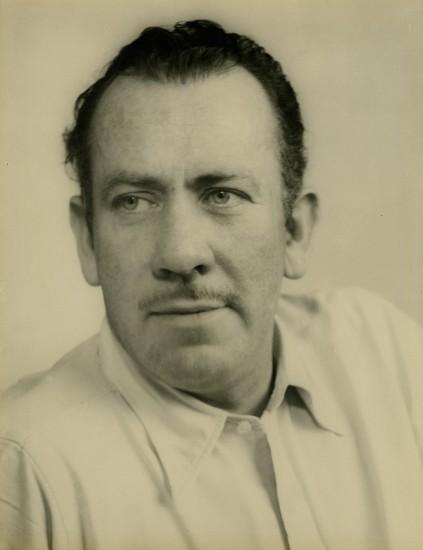 Josef Breitenbach, The Writer John Steinbeck, New York 1947, Vintage gelatin silver print